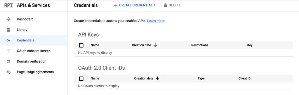Directions for Flutter Application - Create new Google Cloud Console API keys